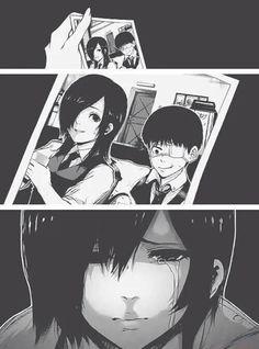 i miss you... Kaneki and Touka | Tokyo Ghoul