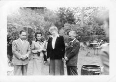 Martha Nassibou, Eleanor Roosevelt and UN diplomats at Roosevelt House, Hyde Park, New York ♡❀❁❤♡❁❤❁♡❤❁❤♡http://www.fdrlibrary.marist.edu/aboutfdr/biographiesandmore.html      http://en.wikipedia.org/wiki/Home_of_Franklin_D._Roosevelt_National_Historic_Site  http://www.nps.gov/hofr/index.htm