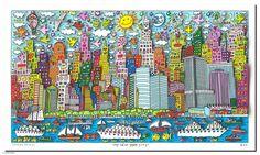 James Rizzi : My New York City