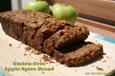 Gluten-Free Apple Spice Bread - Don't Mess with Mama.com