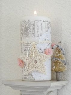 A Cottage In The Woods: Christmas Crafts & Decorations