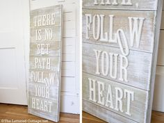 I want to make one of these great wood frames with stick on letters!