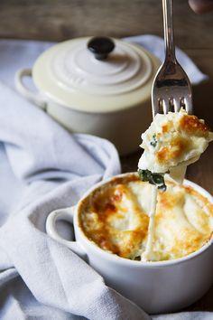 lasagnette con bietola e bufala