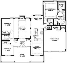 marvelous one story country house plans house plans pinterest country houses country and house