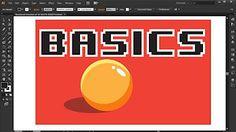 illustrator game art tutorial - YouTube