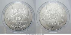 RITTER Weissrussland, 100 Rubel 2009, Olympische Spiele London 2012, 5 Unzen, PP #coins #numismatics