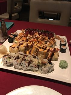 [I ATE] So much sushi #recipes #food #cooking #delicious #foodie #foodrecipes #cook #recipe #health