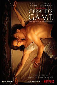 El Juego deGerald (Gerald's Game) #Poster #Netflix