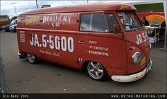 VW Delivery Van