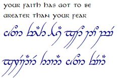 You know... that you're a total nerd when you're writing your journal entries in Elvish. 0 regrets!