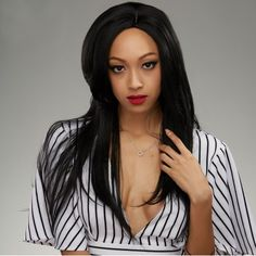 GET $50 NOW | Join RoseGal: Get YOUR $50 NOW!http://www.rosegal.com/human-hair-wigs/long-side-parting-natural-straight-1011102.html?seid=2275071rg1011102