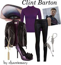 """Clint Barton"" by englishrider298 on Polyvore"