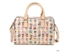 Disney x Samantha Thavasa Boston & Shoulder 2 Way Bag Overnight White JAPAN
