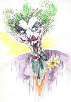 Tim Burton's sketch