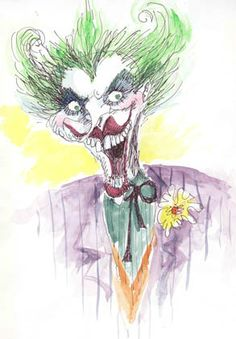 Tim Burton's sketch