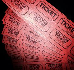 Any Item Raffle Ticket by LeftForDeadDesigns on Etsy, $2.00
