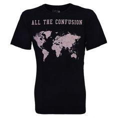 "#Camiseta ""All The #Confusion"" via @gangoficial  #logistica #logistics"