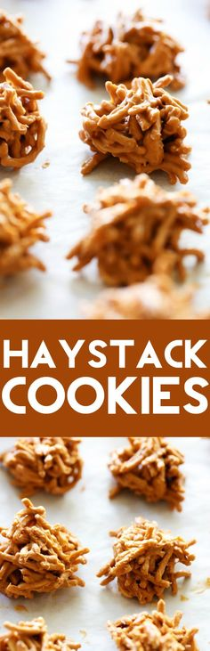 These Butterscotch Haystack Cookies are simple, easy and taste so delicious…