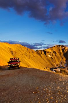 Perhaps a Jeep excursion to go mine for gold? Yes, please! Now this is my kind of adventure, what about you? Off to Telluride to find some gold! :) #pinuplive