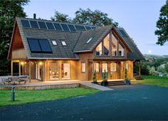 Timber frames on pinterest timber frame homes log homes for Scandinavian style homes exterior
