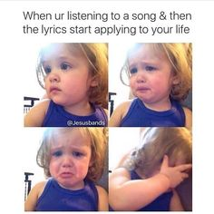 The first time I heard Oh My Soul by Casting Crowns and Fifteen by Taylor Swift