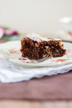 Mandel Kuchen ohne Mehl - schokoladig - http://www.haseimglueck.de/torta-di-mandorle-sizilianischer-mandelkuchen/