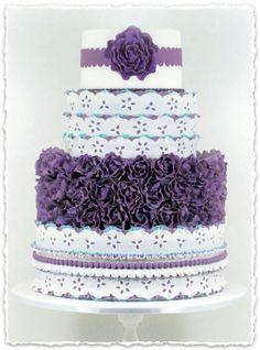 Purple cake  Clipped from CC Magazine