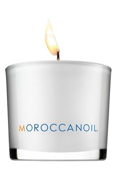 MOROCCANOIL® Candle available at #Nordstrom  If this smells like the shampoo, I must have it.