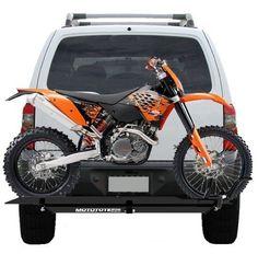 MOTOTOTE MOTO TOTE DIRT BIKE MOTORCYCLE CARRIER HITCH HAULER RACK RAMP | eBay Motors, Parts & Accessories, Motorcycle Accessories | eBay!
