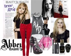 """""""Abbey Dawn -Avril Lavigne Style"""" by danielle-mendez ❤ liked on Polyvore"""