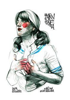 Paula Bonet - posterlacarnisseria Paula Bonet, Human Painting, Photo Sketch, Portraits, Erotic Art, Art World, Graphic Art, Fairy Tales, Drawings
