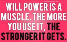will power!