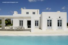 Casa tipo villa del Mediterráneo