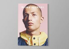 Rains Journal - Issue Two by Rickey Lindberg, via Behance