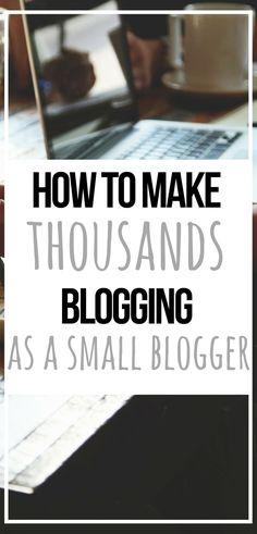 The Things I Do To Make Money Blogging #BloggingTips #BlogTips #BloggingAdvice