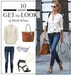 Get the look: Το modern casual look της Heidi Klum