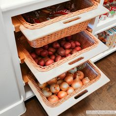 Organized Pantry Baskets (Sunny Side Up)
