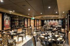 Corporate Information & Media Room Msc Magnifica, Msc Cruises, Conference Room, Restaurant, Oriental, Table, Furniture, Home Decor, Viajes