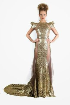 Michael Costello Gowns dresses for 2014