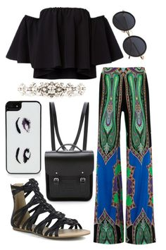 """Nice dinner out with AJ"" by hazelnut2002 ❤ liked on Polyvore featuring Kate Spade, The Cambridge Satchel Company, Etro, Mark & Maddux and Dolce&Gabbana"