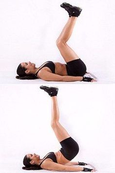 This move will help you target your hard-to-reach lower abs.
