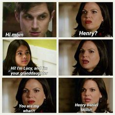 Fan edit of Regina, Lucy, and adult Henry, with Regina learning that she has a granddaughter - for season seven of Once Upon a Time