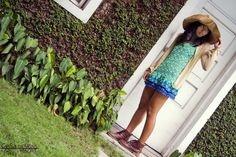 Fuenterrabia Cover-up (C007) P980.00    This cover-up is a short dress. Just throw a polo top and some boots or sandals with it and you are ready to go!    *Colors: Floral, Green zigzag print (photo) (Small left)    *Size: XS, S, M    Photography: Inna Cristobal  MUA: Jireh De Jose  Model: Kim Mangrobang