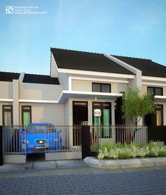 Arsitektur Desain Rumah 1 Lantai | Lebar 6,7m² | Banung's House Villa Harmorny Banguntapan Jogja