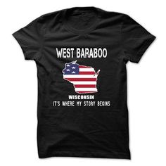 WEST BARABOO - Its where my story begins! - #vintage shirt #sweater pattern. CHECK PRICE => https://www.sunfrog.com/LifeStyle/WEST-BARABOO--Its-where-my-story-begins.html?68278