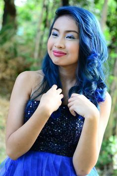 splat blue envy blue hair color pinterest splat hair