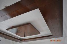 Holz Zwischendecke Designs Für Wohnzimmer - Küchen
