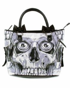 Iron Fist Bone Breaker Black and White Goth Skeleton Skull Zombie Vegan Handbag Purse Iron Fist,http://www.amazon.com/dp/B008YP0AX0/ref=cm_sw_r_pi_dp_6naesb0AQ01YR83G