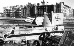 Destroyed light tank BT-42 / Zniszczony czołg lekki BT-42