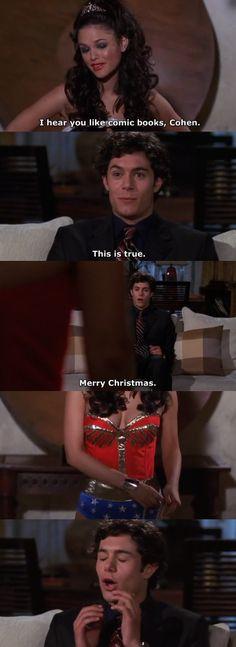Seth's Christmas gift lol